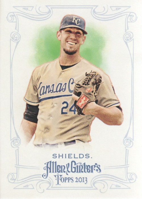 2013 Topps Allen and Ginter #270 James Shields