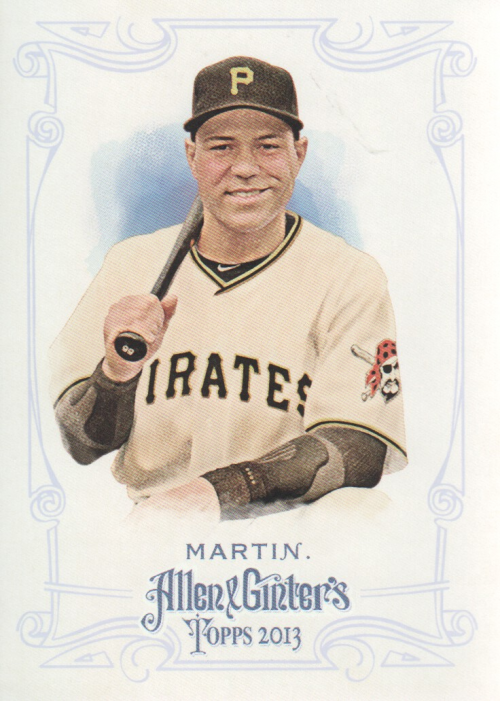 2013 Topps Allen and Ginter #334 Russell Martin SP