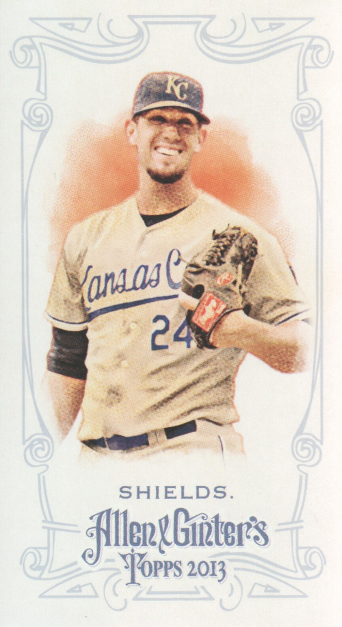 2013 Topps Allen and Ginter Mini #270 James Shields