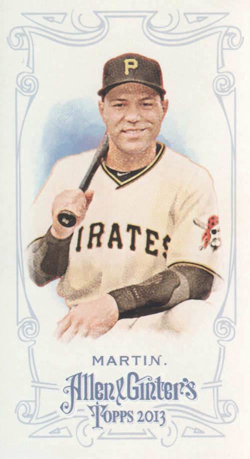 2013 Topps Allen and Ginter Mini #334 Russell Martin