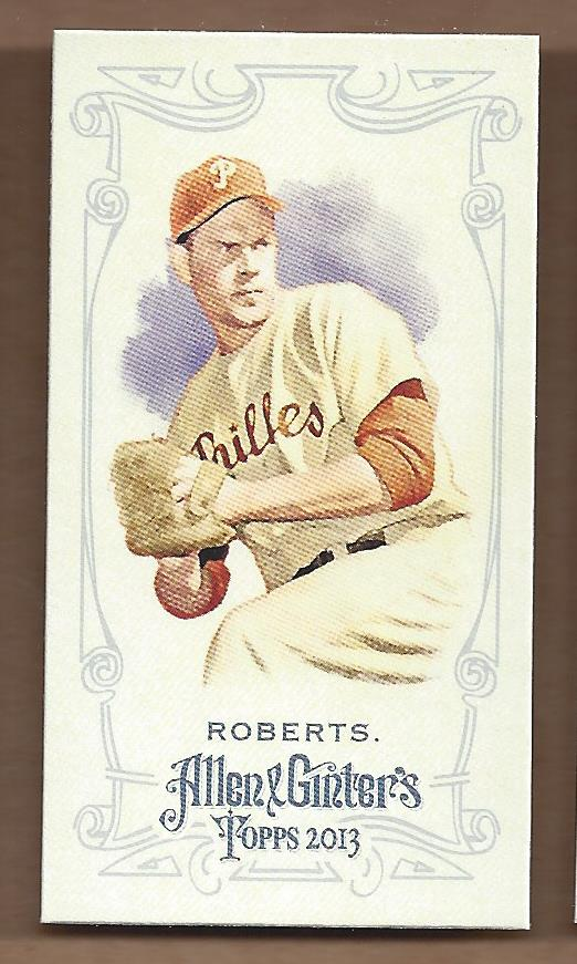 2013 Topps Allen and Ginter Mini A and G Back #34 Robin Roberts