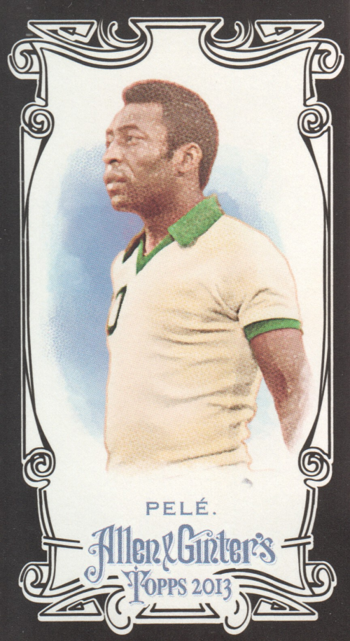 2013 Topps Allen and Ginter Mini Black #130 Pele