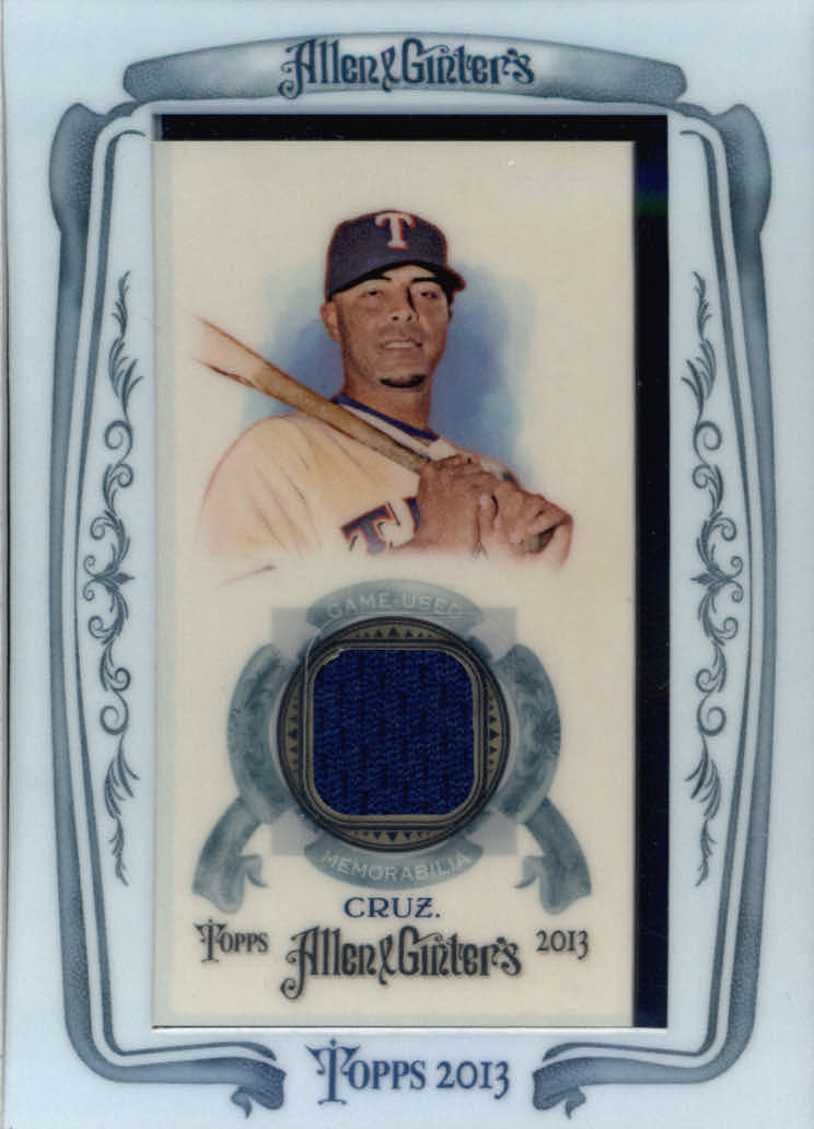 2013 Topps Allen and Ginter Framed Mini Relics #NC Nelson Cruz