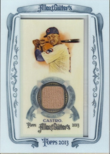 2013 Topps Allen and Ginter Framed Mini Relics #SC Starlin Castro