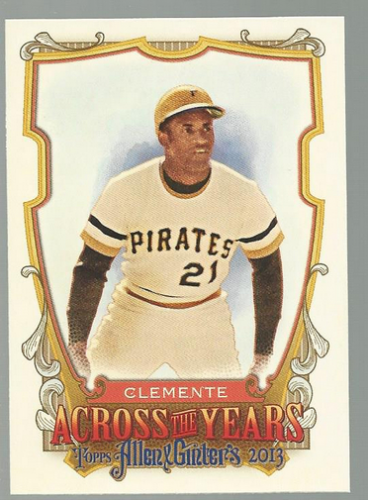2013 Topps Allen and Ginter Across the Years #RCL Roberto Clemente