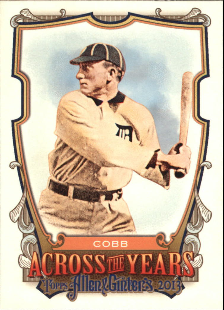 2013 Topps Allen and Ginter Across the Years #TC Ty Cobb