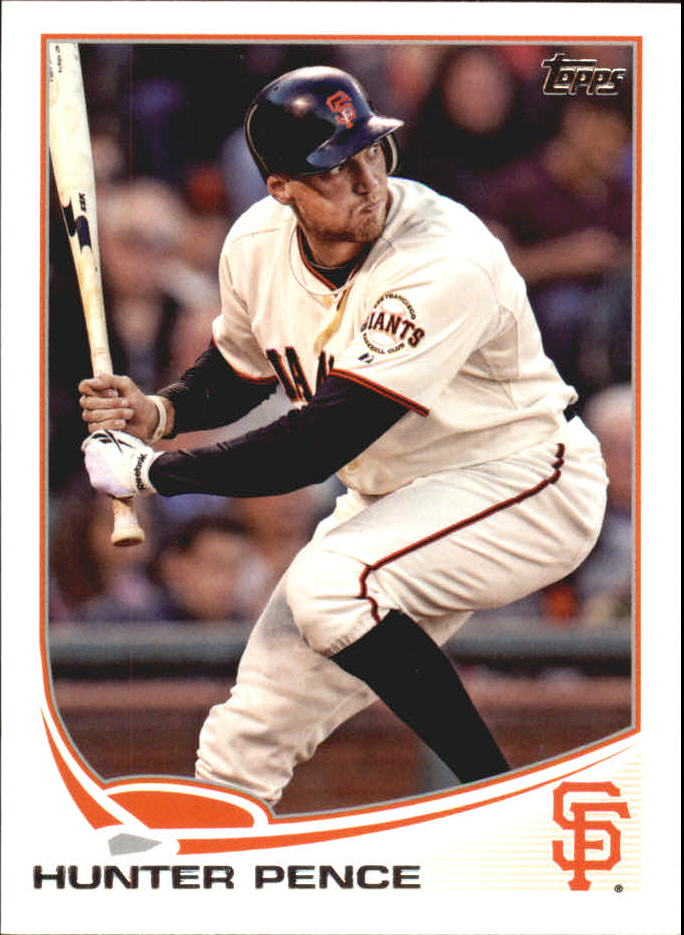 2013 Topps Mini #3 Hunter Pence