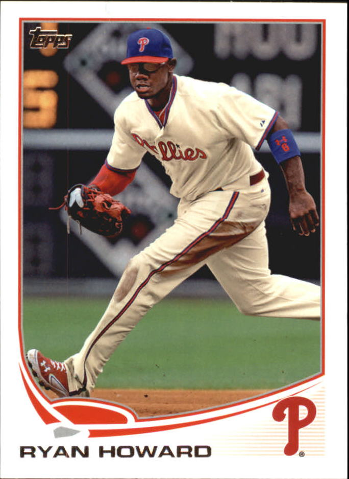2013 Topps Mini #6 Ryan Howard