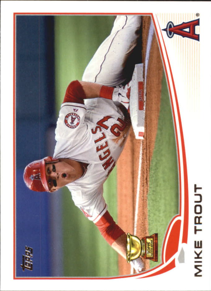 2013 Topps Mini #27 Mike Trout