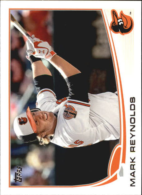 2013 Topps Mini #112 Mark Reynolds