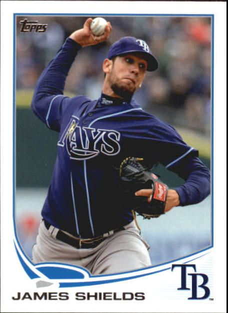 2013 Topps Mini #133 James Shields