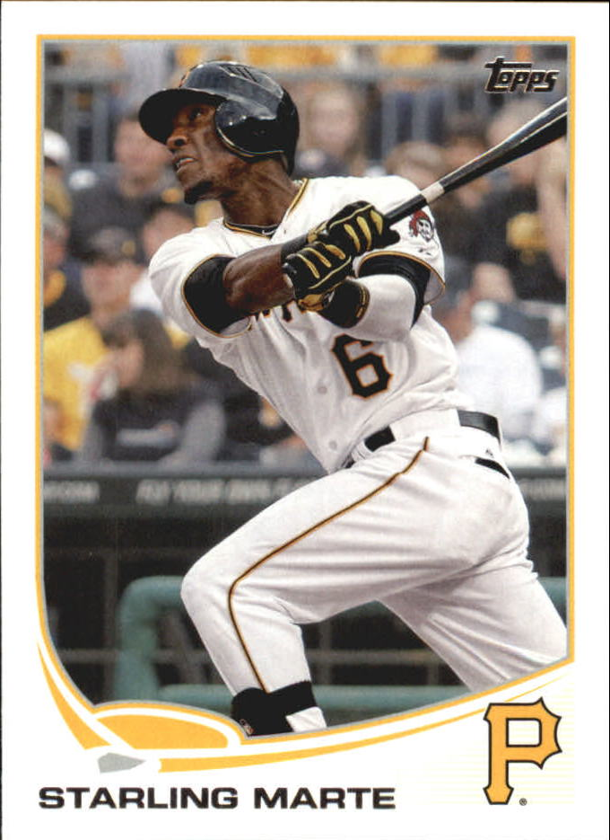2013 Topps Mini #288 Starling Marte