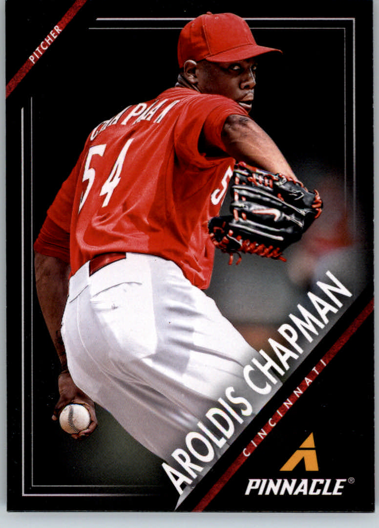 2013 Pinnacle #1 Aroldis Chapman