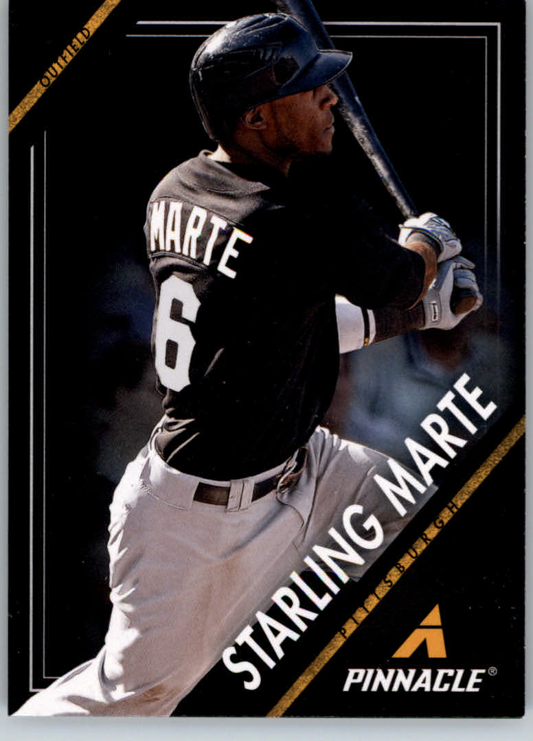 2013 Pinnacle #21 Starling Marte