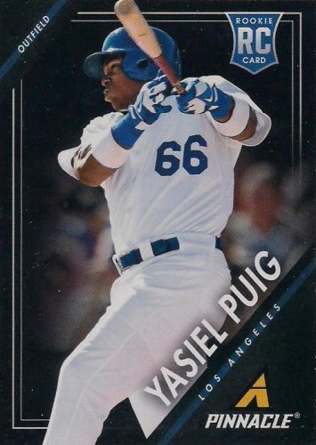 2013 Pinnacle #193 Yasiel Puig RC