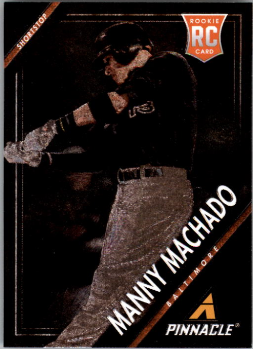 2013 Pinnacle Museum Collection #163 Manny Machado