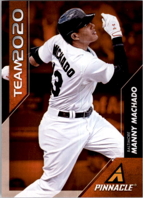 2013 Pinnacle Team 2020 #2 Manny Machado