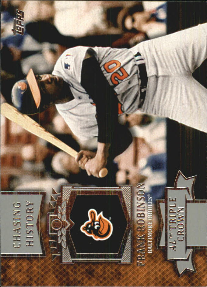 2013 Topps Mini Chasing History #MCH3 Frank Robinson
