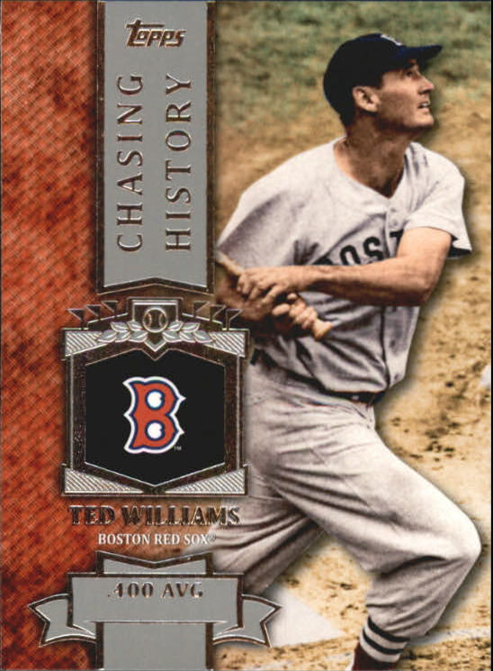 2013 Topps Mini Chasing History #MCH4 Ted Williams