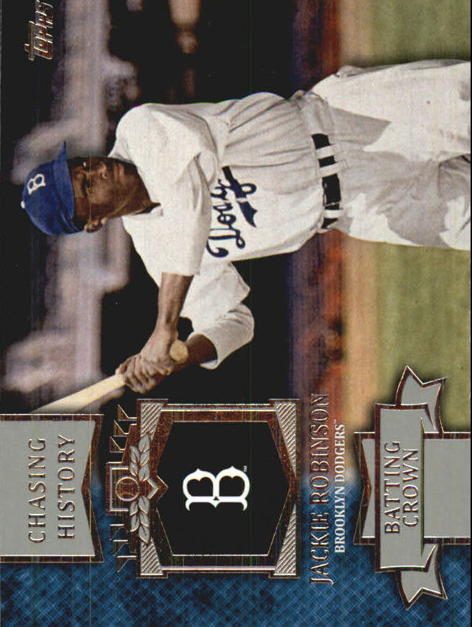 2013 Topps Mini Chasing History #MCH5 Jackie Robinson
