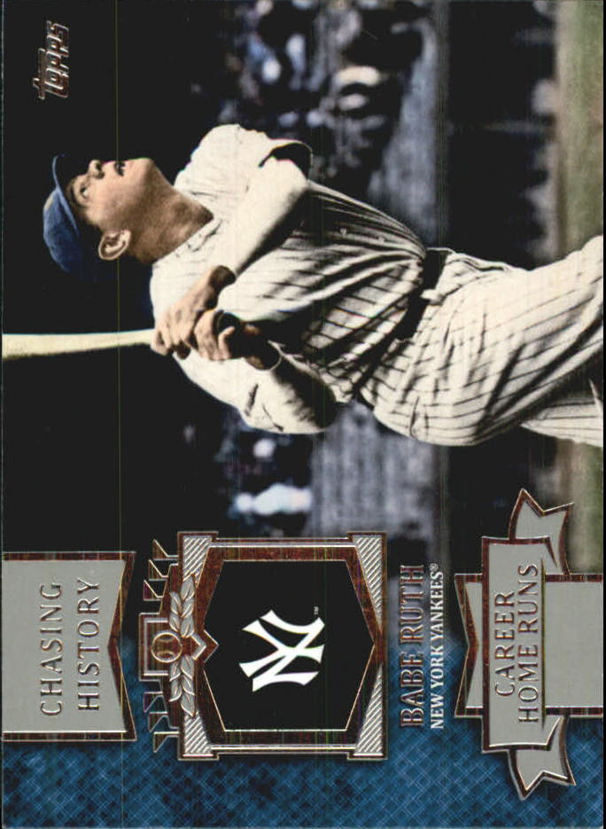 2013 Topps Mini Chasing History #MCH14 Babe Ruth