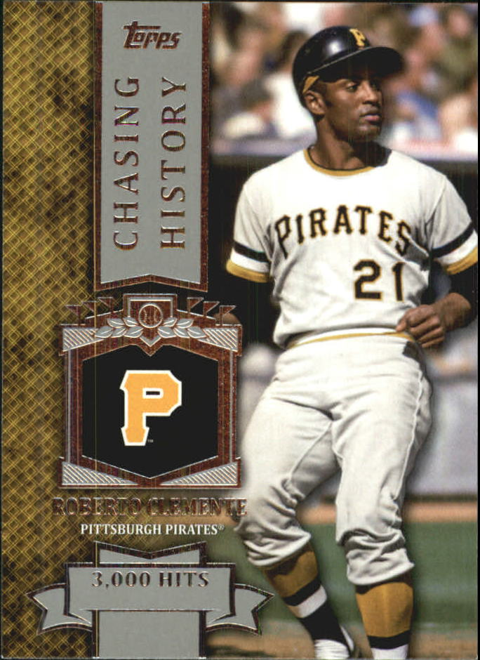 2013 Topps Mini Chasing History #MCH16 Roberto Clemente