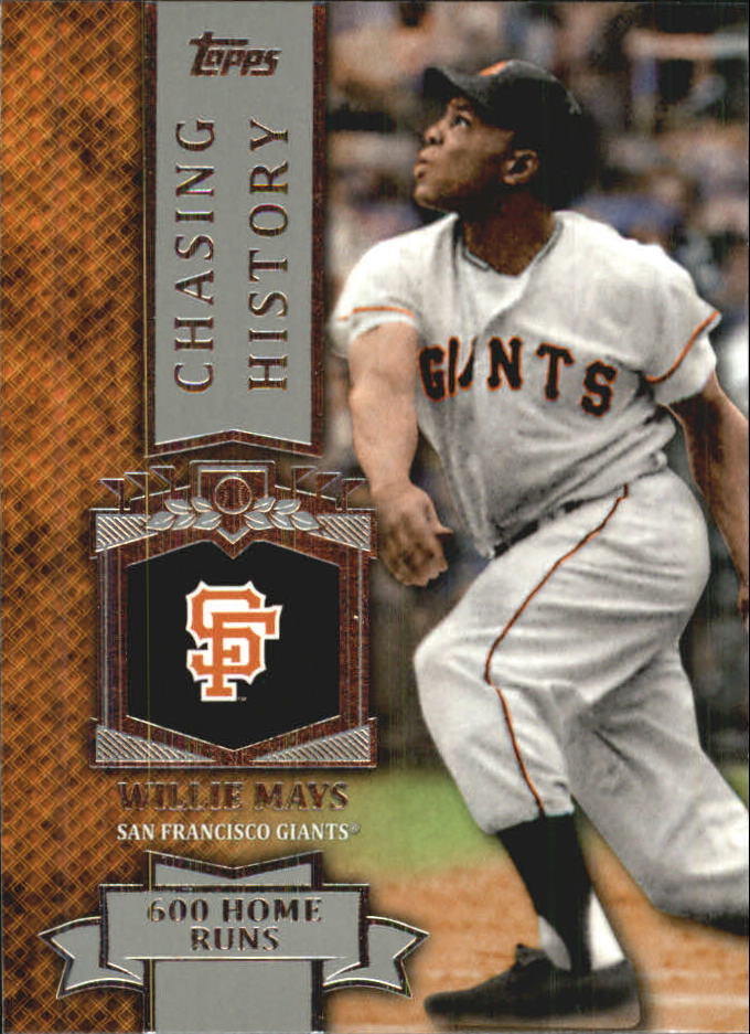 2013 Topps Mini Chasing History #MCH17 Willie Mays