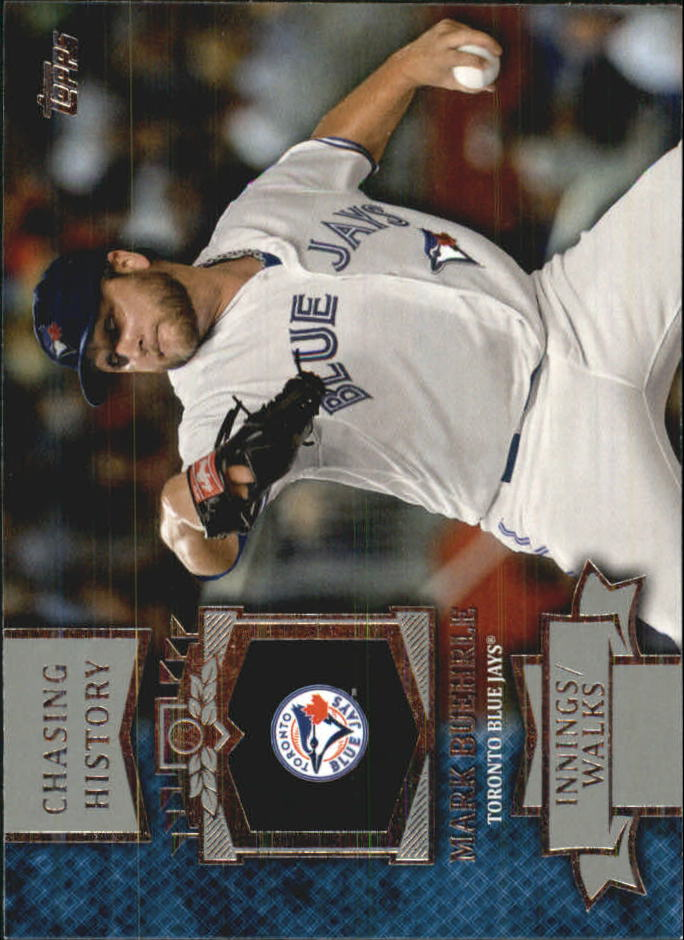 2013 Topps Mini Chasing History #MCH21 Mark Buehrle