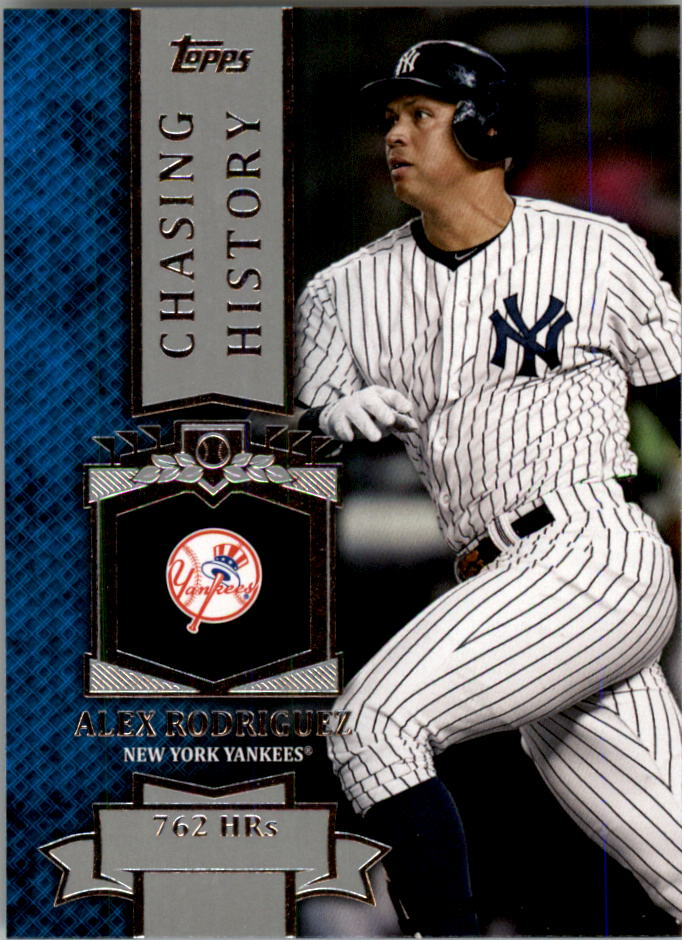 2013 Topps Mini Chasing History #MCH25 Alex Rodriguez