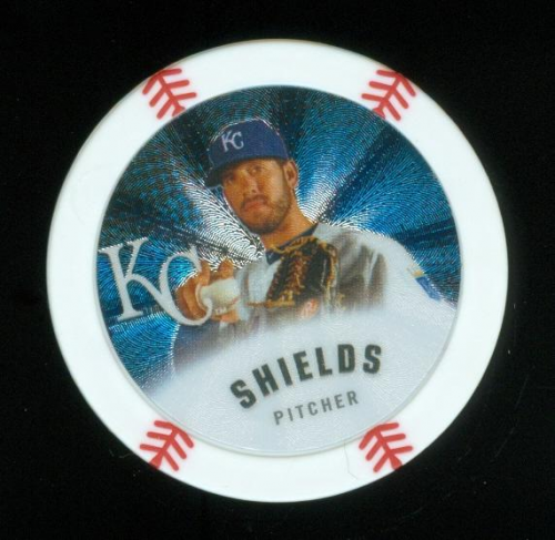 2013 Topps Chipz Silver #JSH James Shields