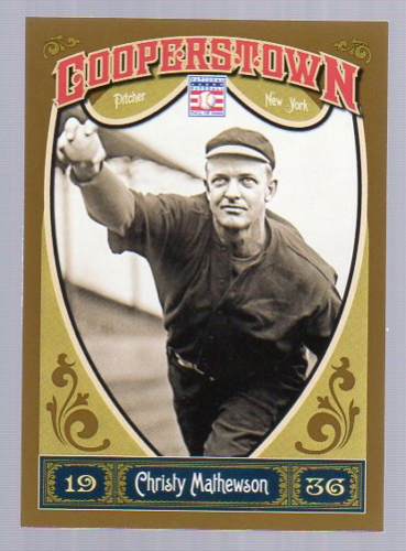 2013 Panini Cooperstown #4 Christy Mathewson