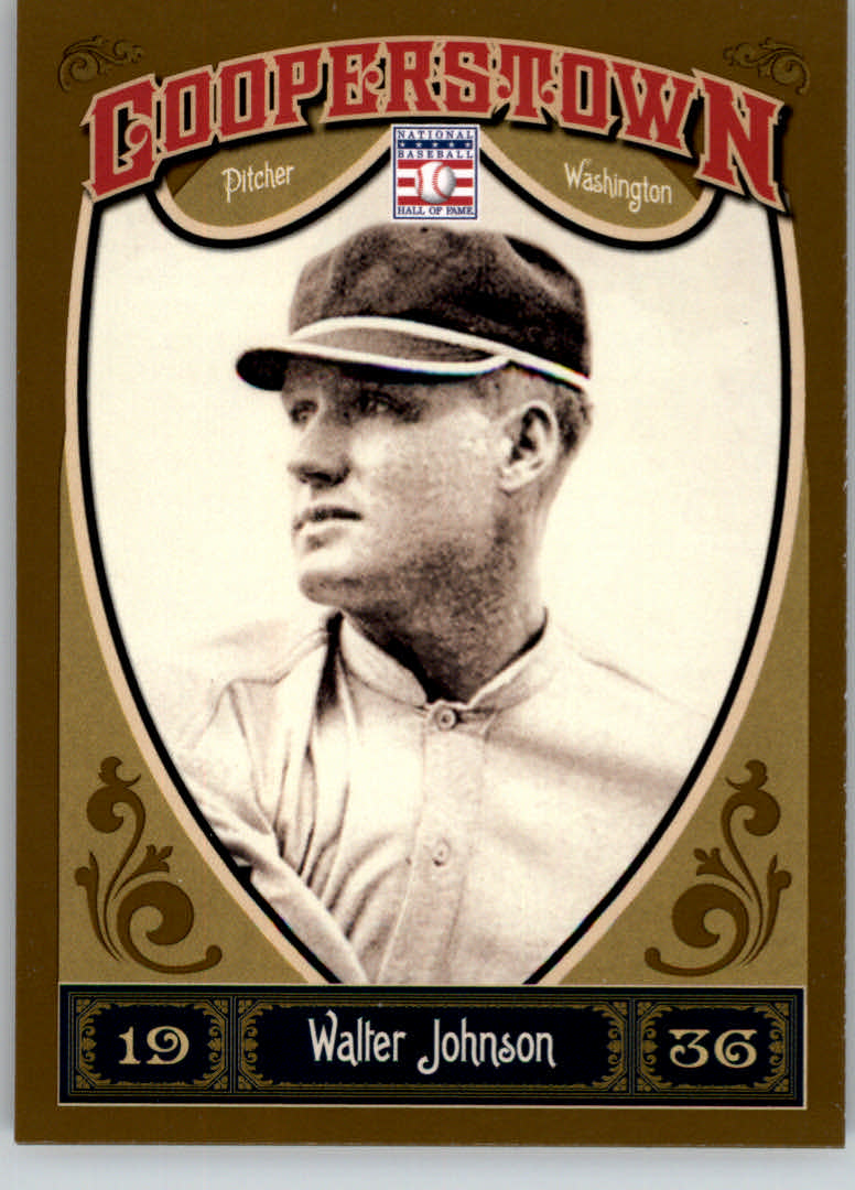 2013 Panini Cooperstown #7 Walter Johnson