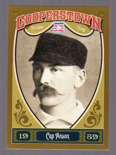 2013 Panini Cooperstown #11 Cap Anson
