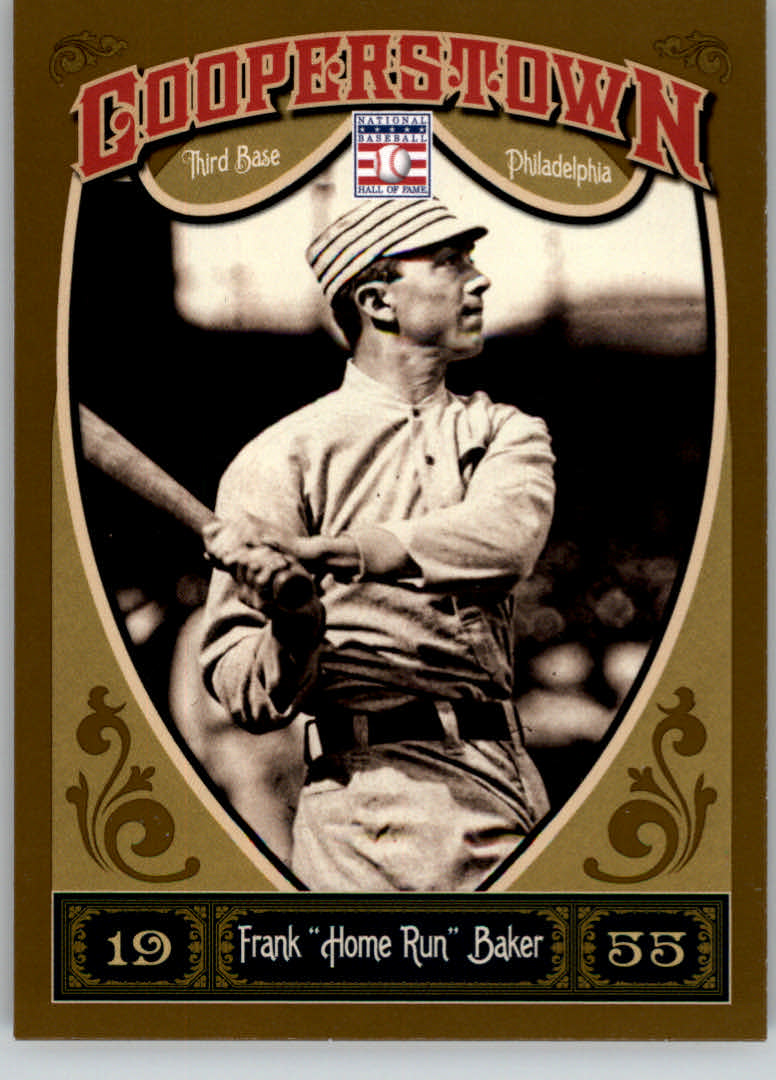 2013 Panini Cooperstown #12 Frank Baker