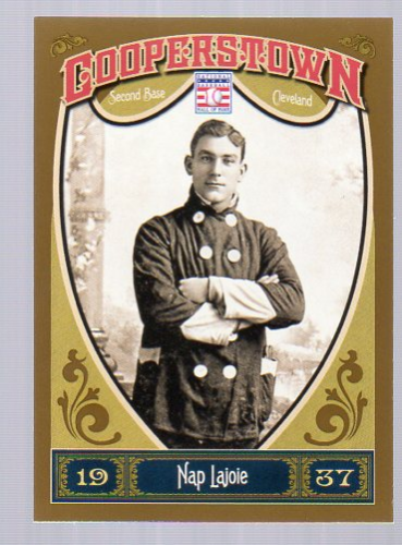 2013 Panini Cooperstown #19 Nap Lajoie
