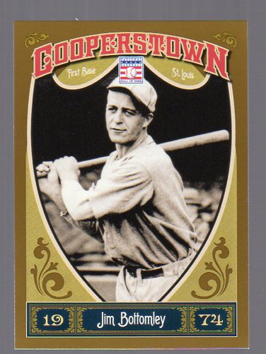 2013 Panini Cooperstown #29 Jim Bottomley