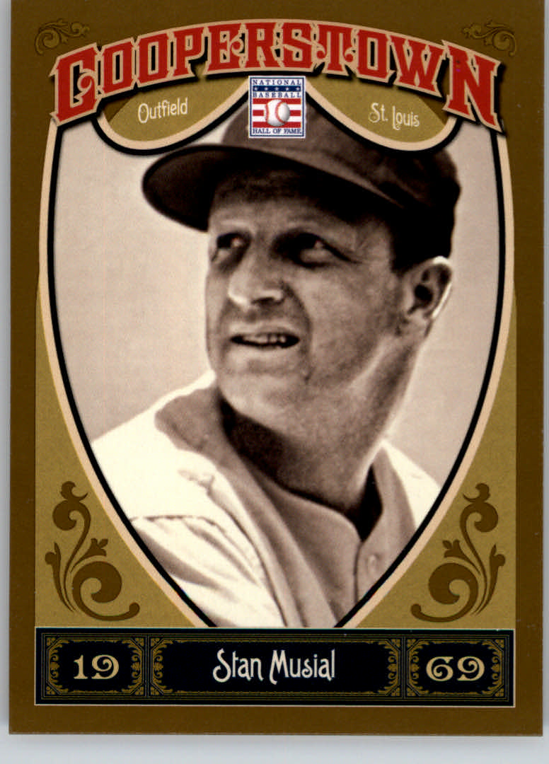 2013 Panini Cooperstown #56 Stan Musial