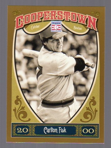 2013 Panini Cooperstown #93 Carlton Fisk