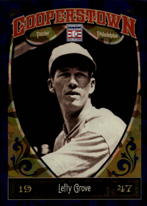2013 Panini Cooperstown Blue Crystal #25 Lefty Grove