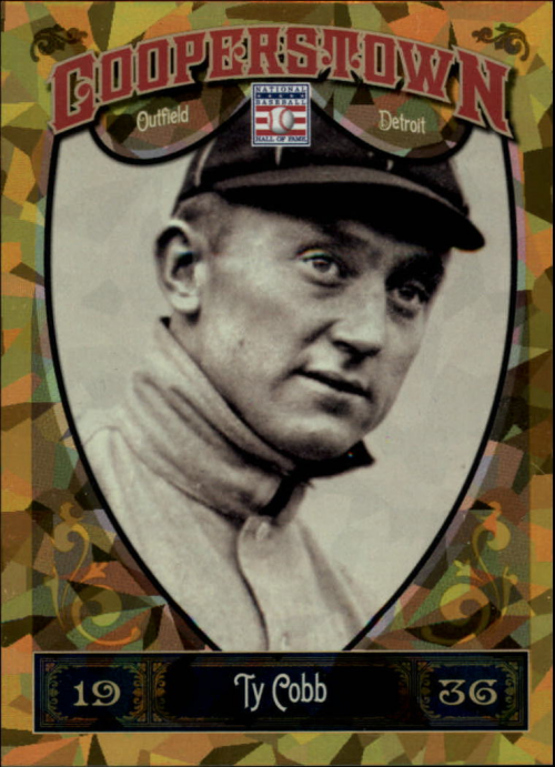 2013 Panini Cooperstown Gold Crystal #5 Ty Cobb