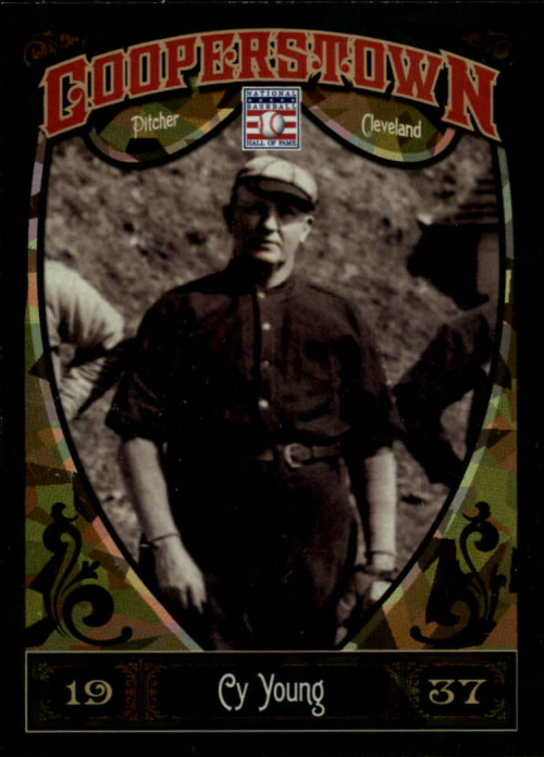 2013 Panini Cooperstown Green Crystal #2 Cy Young
