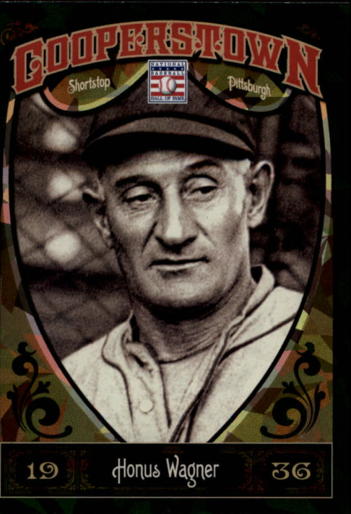 2013 Panini Cooperstown Green Crystal #14 Honus Wagner