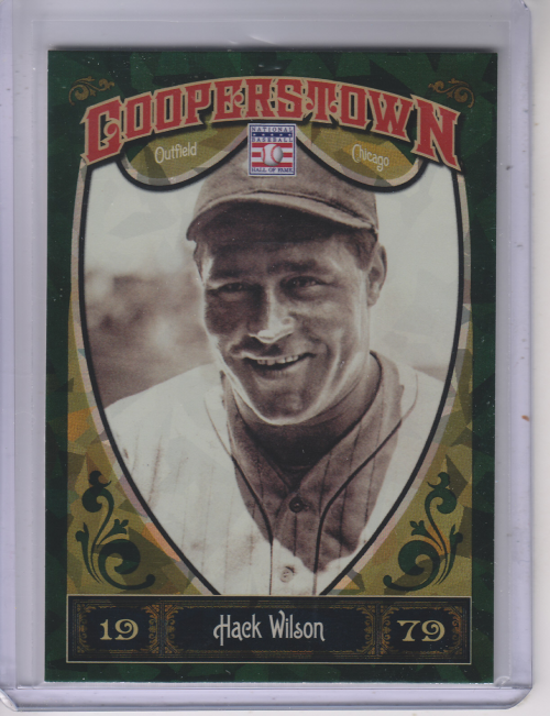 2013 Panini Cooperstown Green Crystal #23 Hack Wilson
