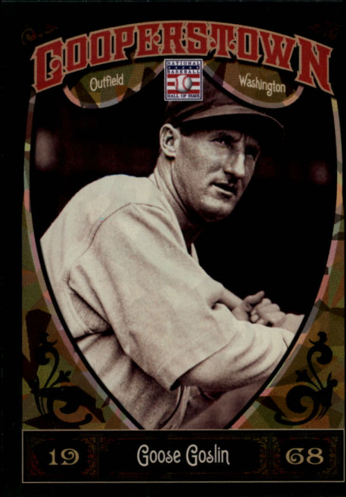 2013 Panini Cooperstown Green Crystal #24 Goose Goslin