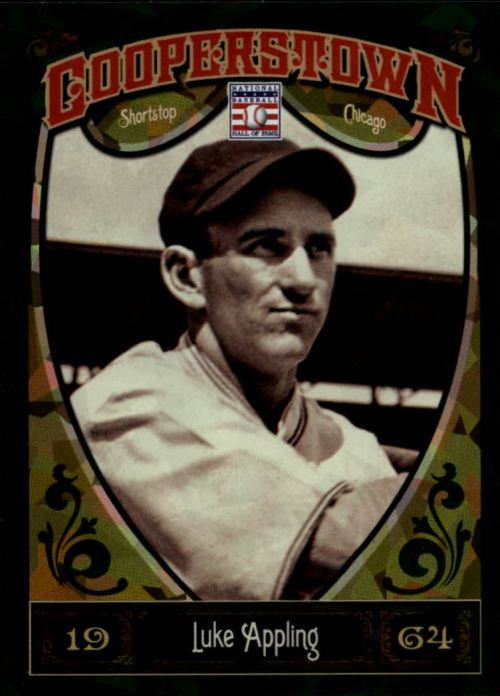 2013 Panini Cooperstown Green Crystal #50 Luke Appling