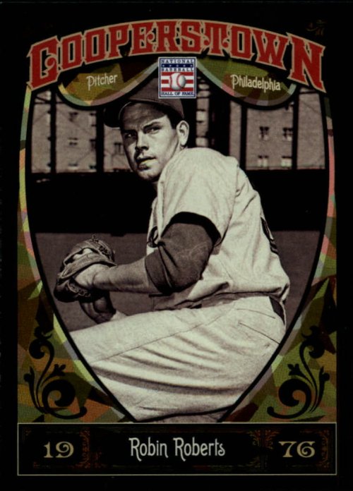 2013 Panini Cooperstown Green Crystal #72 Robin Roberts