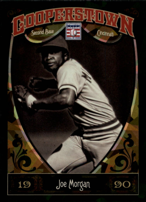 2013 Panini Cooperstown Green Crystal #85 Joe Morgan