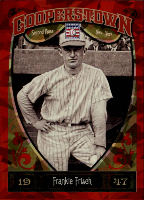 2013 Panini Cooperstown Red Crystal #15 Frankie Frisch