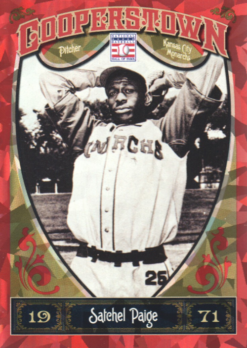 2013 Panini Cooperstown Red Crystal #17 Satchel Paige