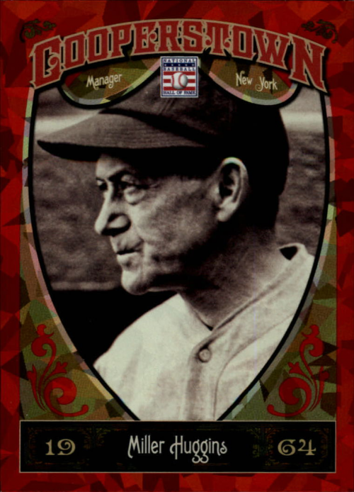 2013 Panini Cooperstown Red Crystal #18 Miller Huggins